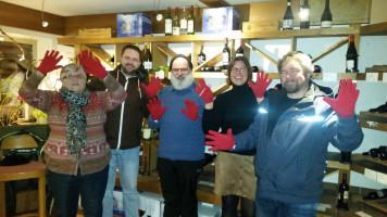 Weihnachtsfeier im Ortsverein mit Birgit Heckmair, Johannes Heller, Karl-Heinz Heil, Kathrin Bäuerle und Michael Menz