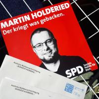 Martin Holderied Wahlbroschüre