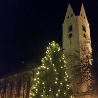 Weihnachtsbaum am Oberstdorfer Marktplatz